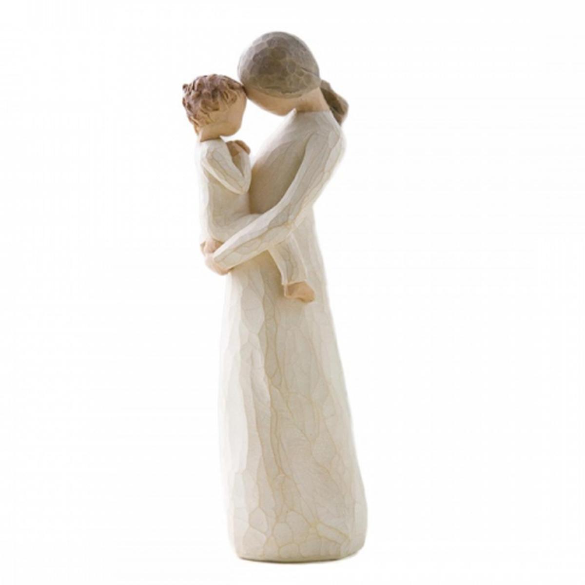 Figurine résine \'Willow Tree\' (Tendresse - mère et enfant) - 21x75x65 cm - [R2989]