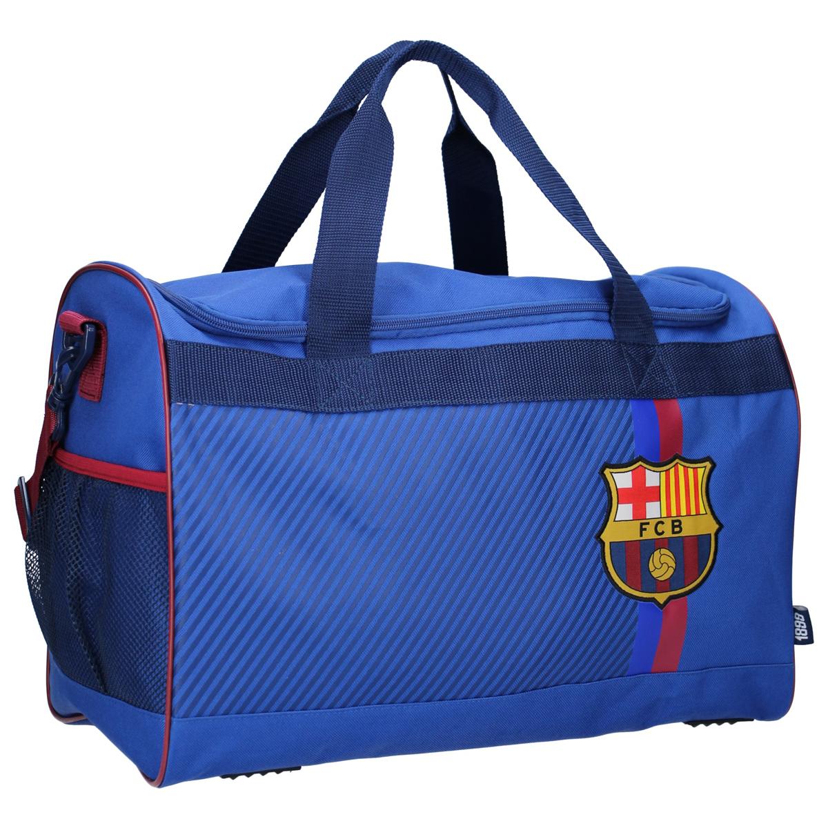 Sac de sport créateur \'FC Barcelona\' bleu - 45x30x24 cm - [A0066]