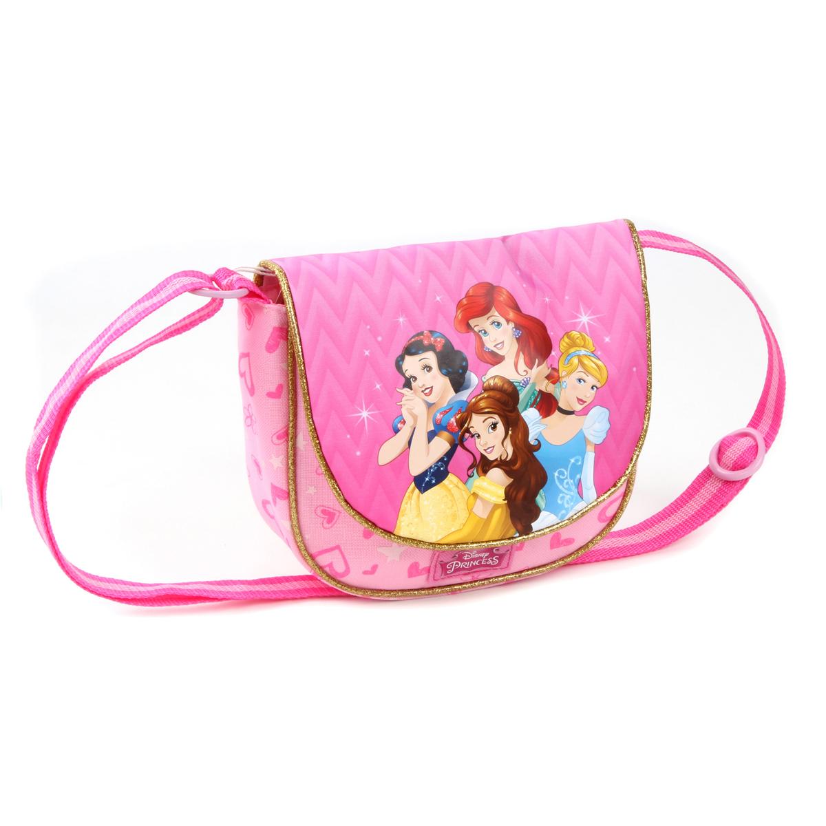 Sac créateur \'Princesses Disney\' rose - 19x155x55 cm - [A0113]