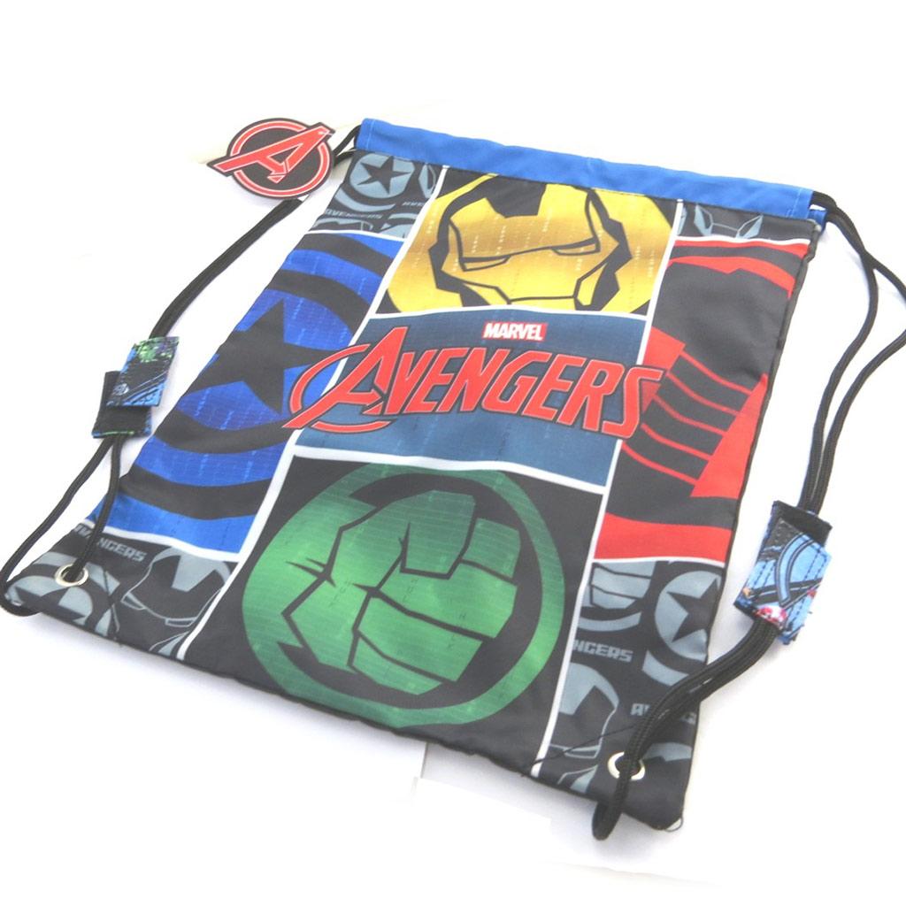 Sac piscine \'Avengers\' noir multicolore - 40x30 cm - [N0559]