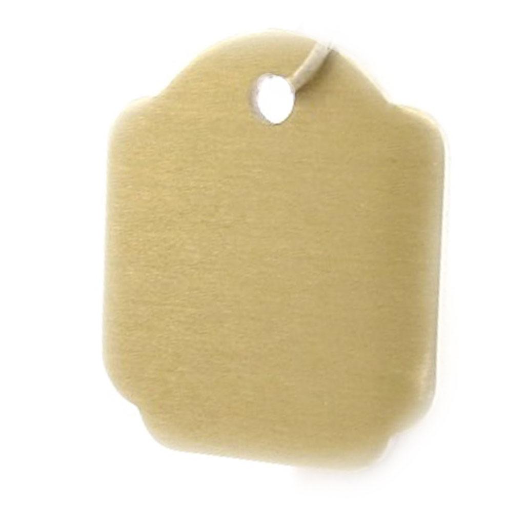 Médaille Animaux \'Carré\' Doré - [C3135]