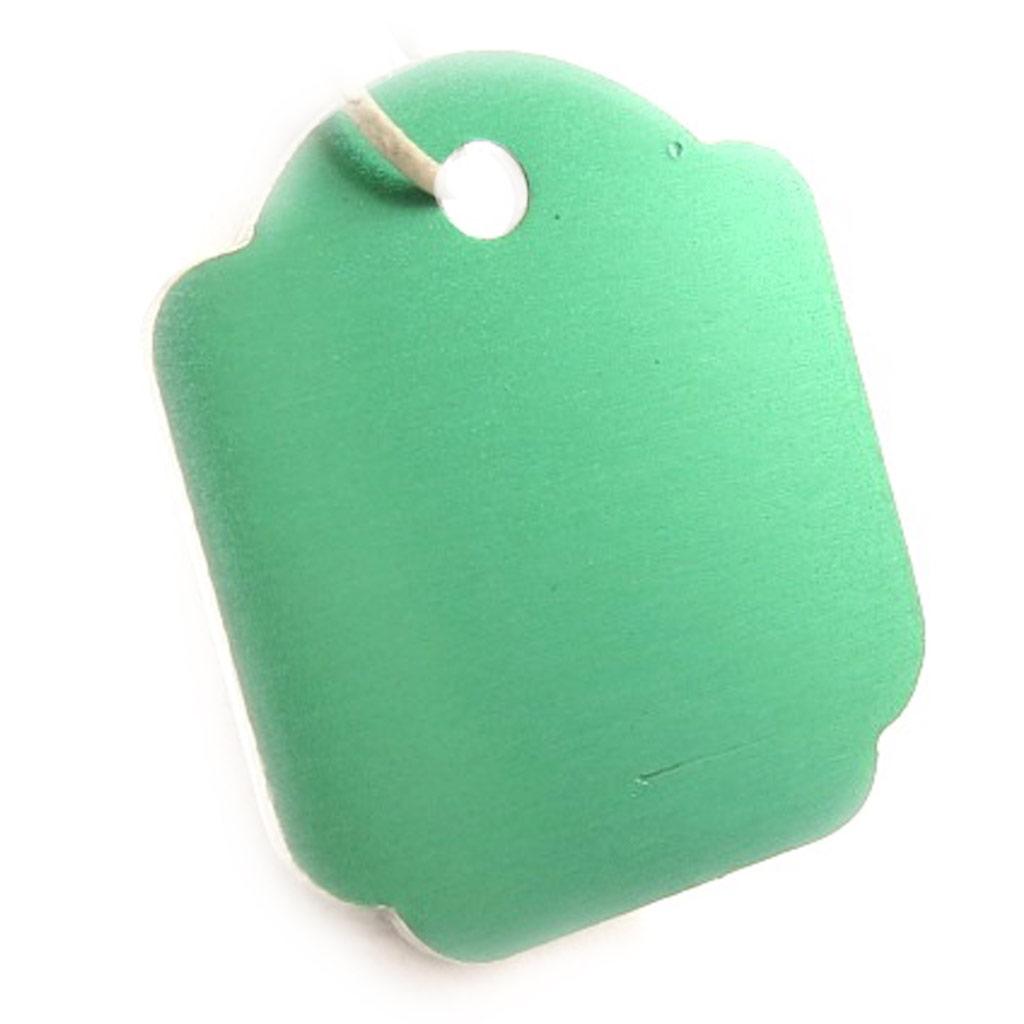 Médaille Animaux \'Carré\' Vert - [C3393]