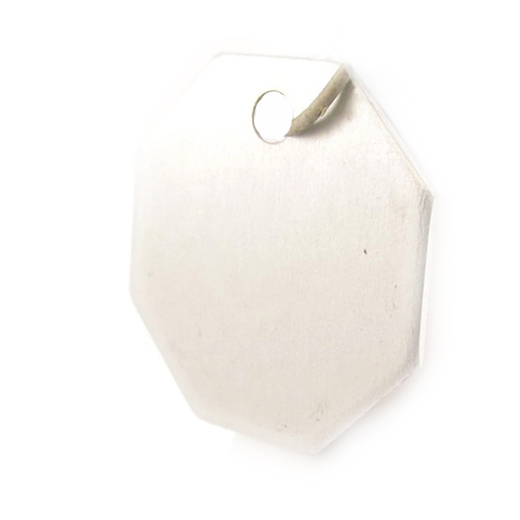Médaille Animaux \'Octogone\' Argenté - [C3726]