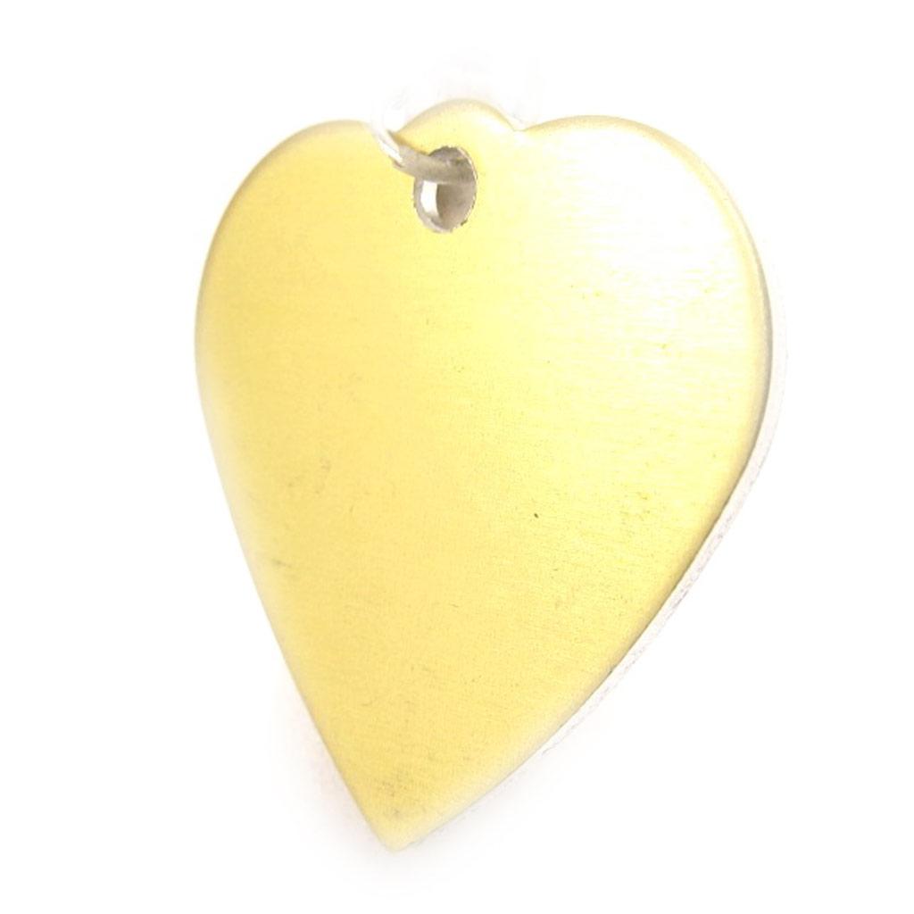 Médaille Animaux \'Coeur\' Doré - [C3729]