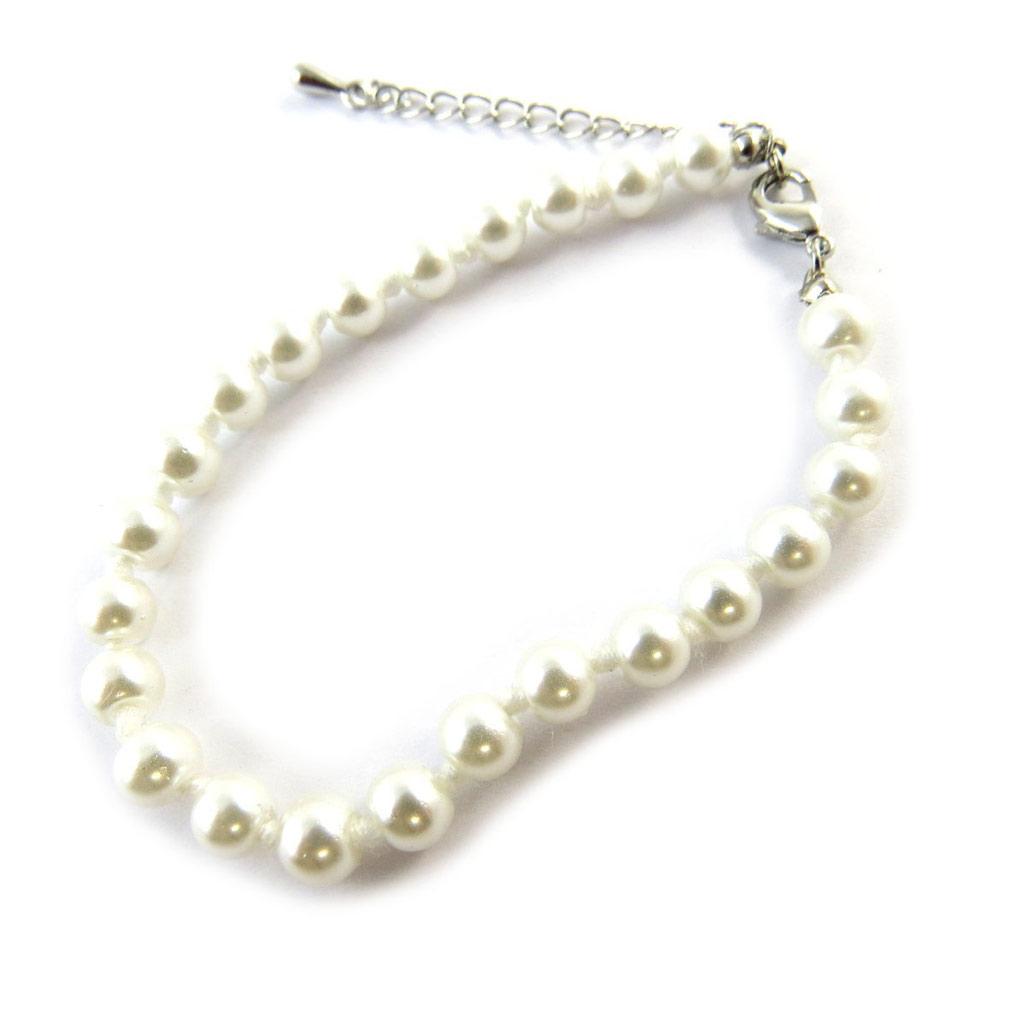 Bracelet \'Perla\' ivoire  - [N7029]