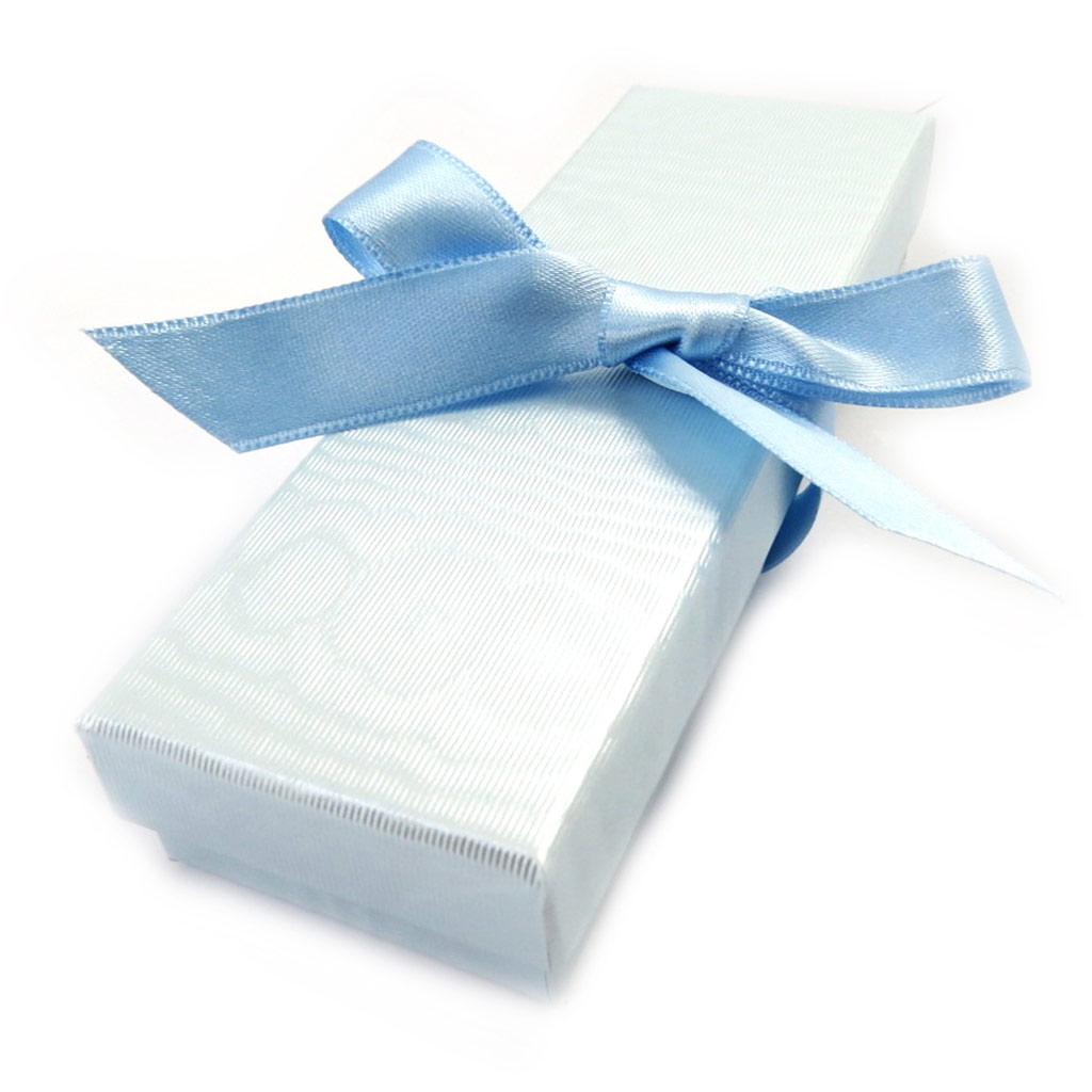 Ecrin \'Satiné Pastel\' Bleu Ciel  - [B5695]