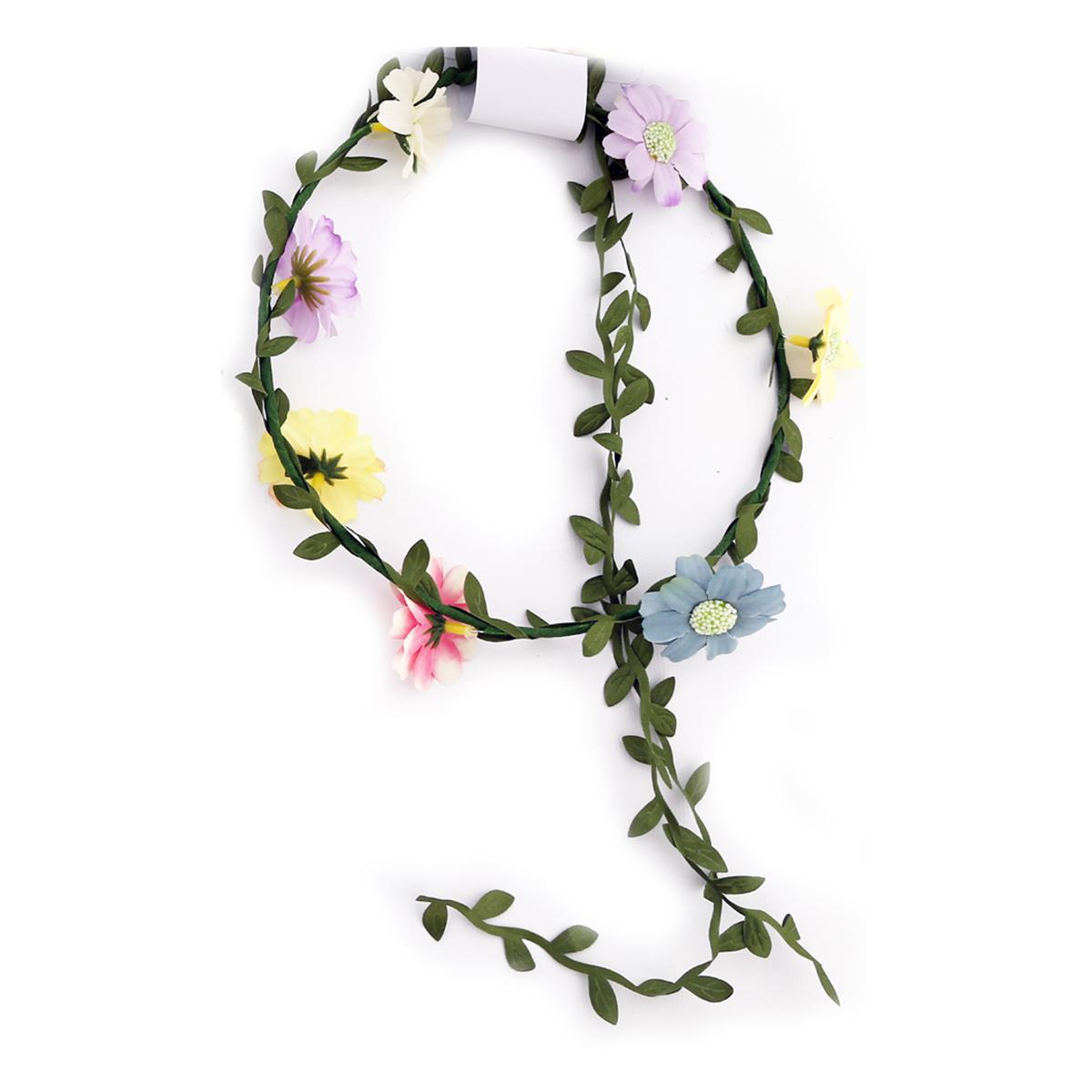 Couronne créateur \'champêtre \' multicolore - taille unique, diamètre 18 cm - [R3071]