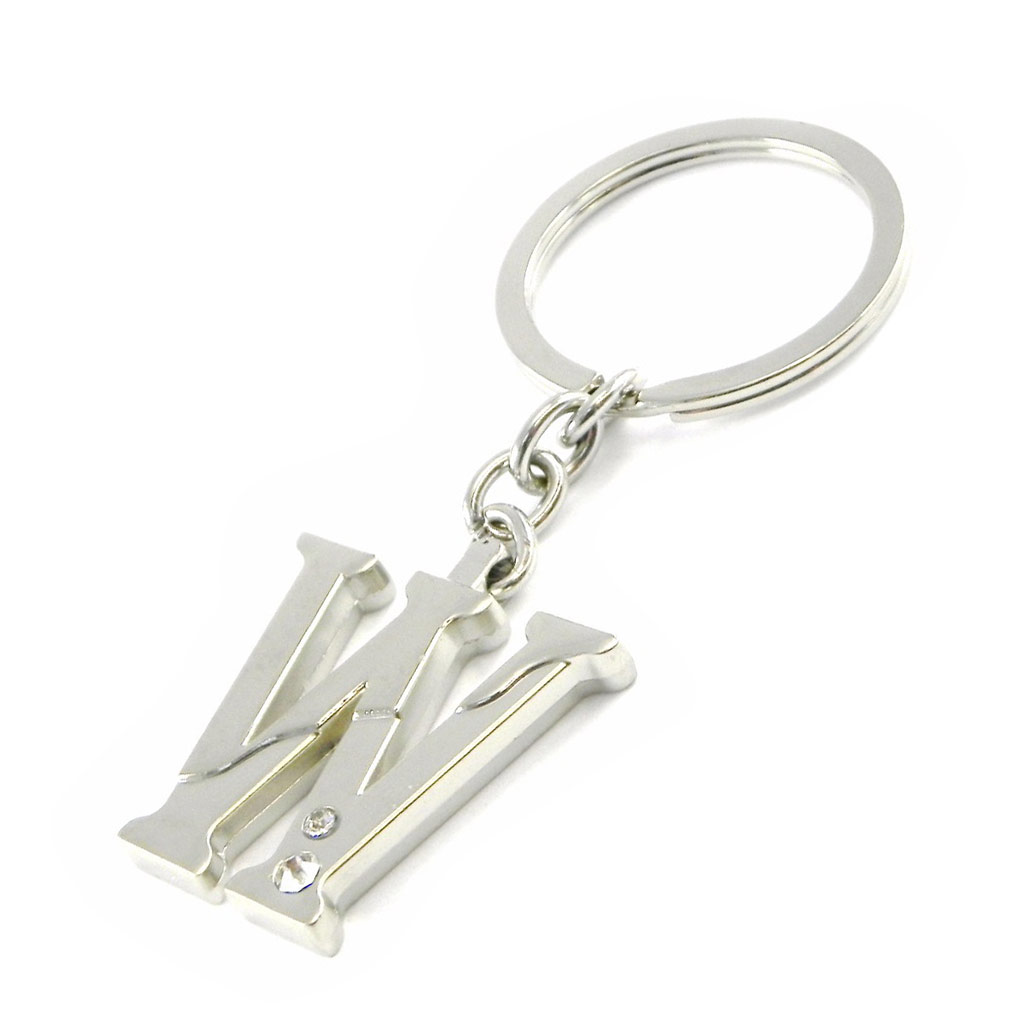 Porte-clés \'Alphabet\' lettre W - [H7128]