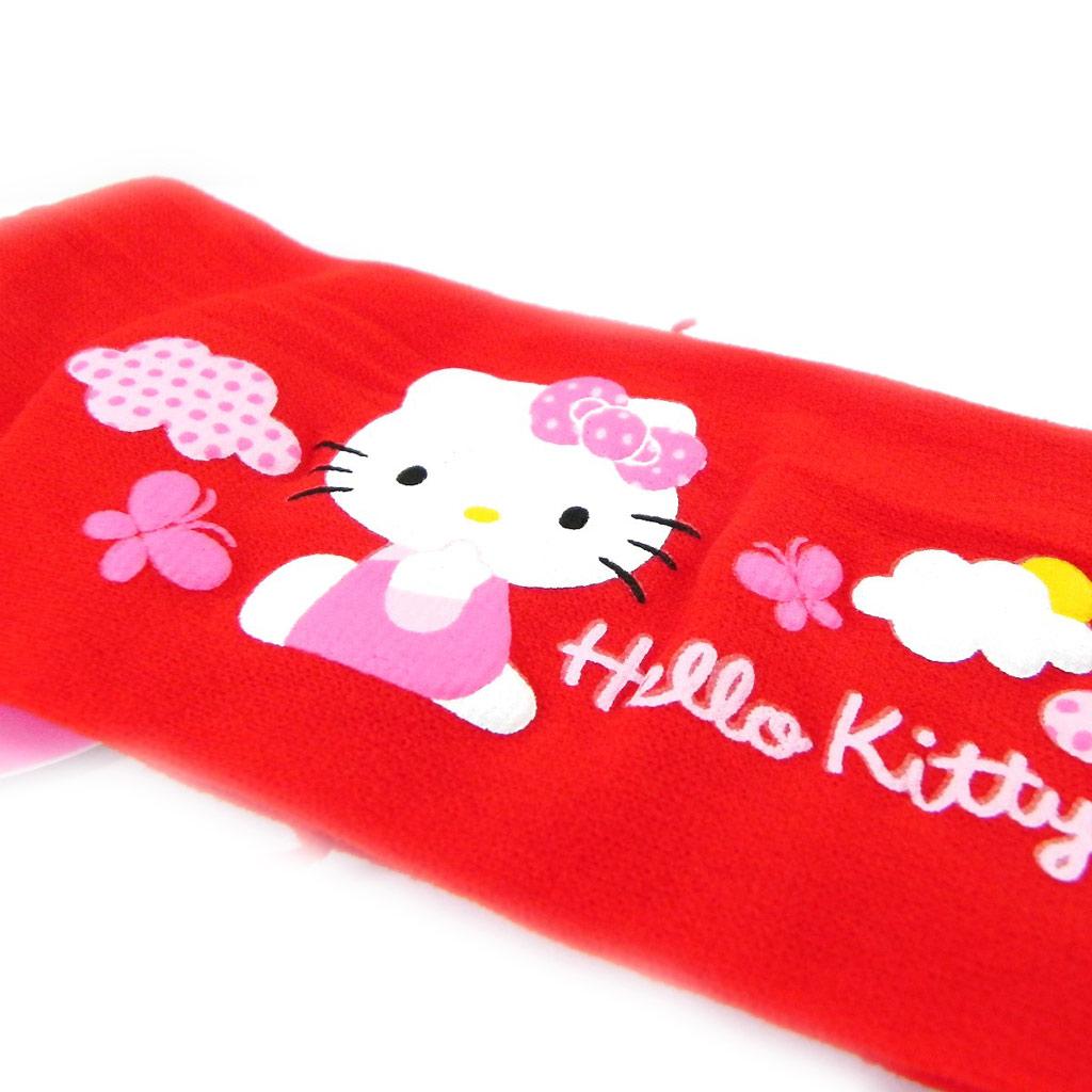 Bandeau \'Hello Kitty\' rouge vif - [H7244]