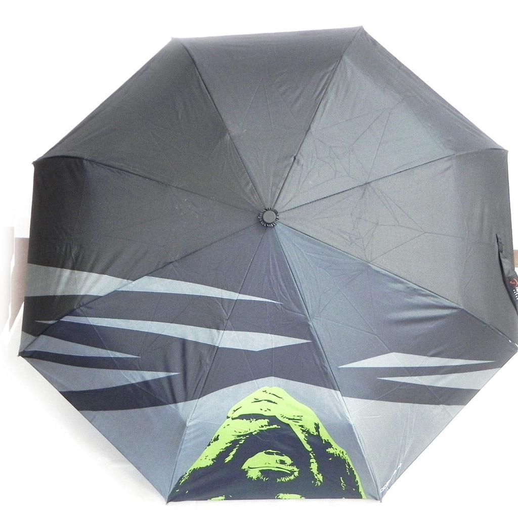 Parapluie Neyrat \'Orang Outan\' noir vert - [I7013]