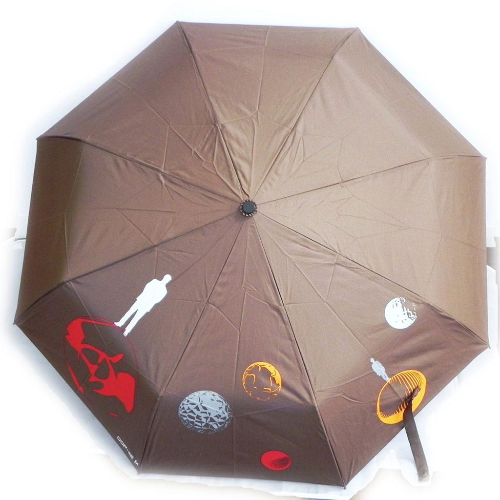Parapluie Neyrat \'Cosmos\' marron - [I7014]