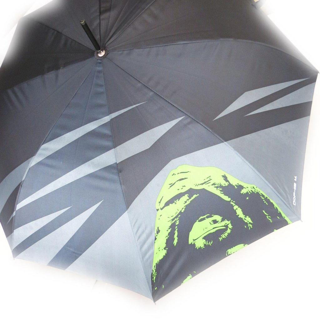 Parapluie Neyrat \'Orang Outan\' gris vert - [J5194]