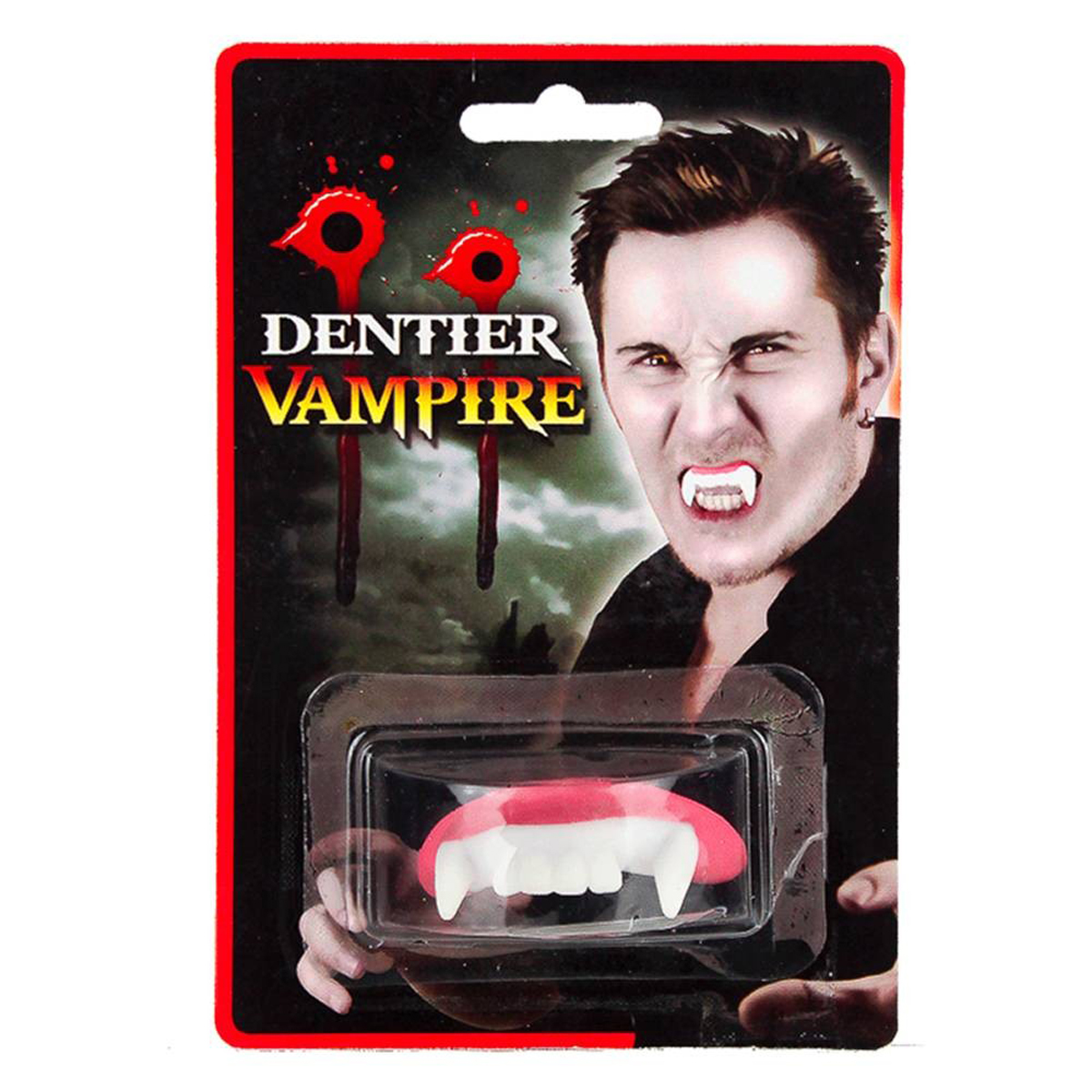 Fausses dents \'Dents de Vampire\'  - [K0449]