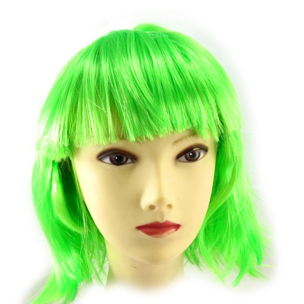 Perruque \'Coloriage\' vert - [K2245]
