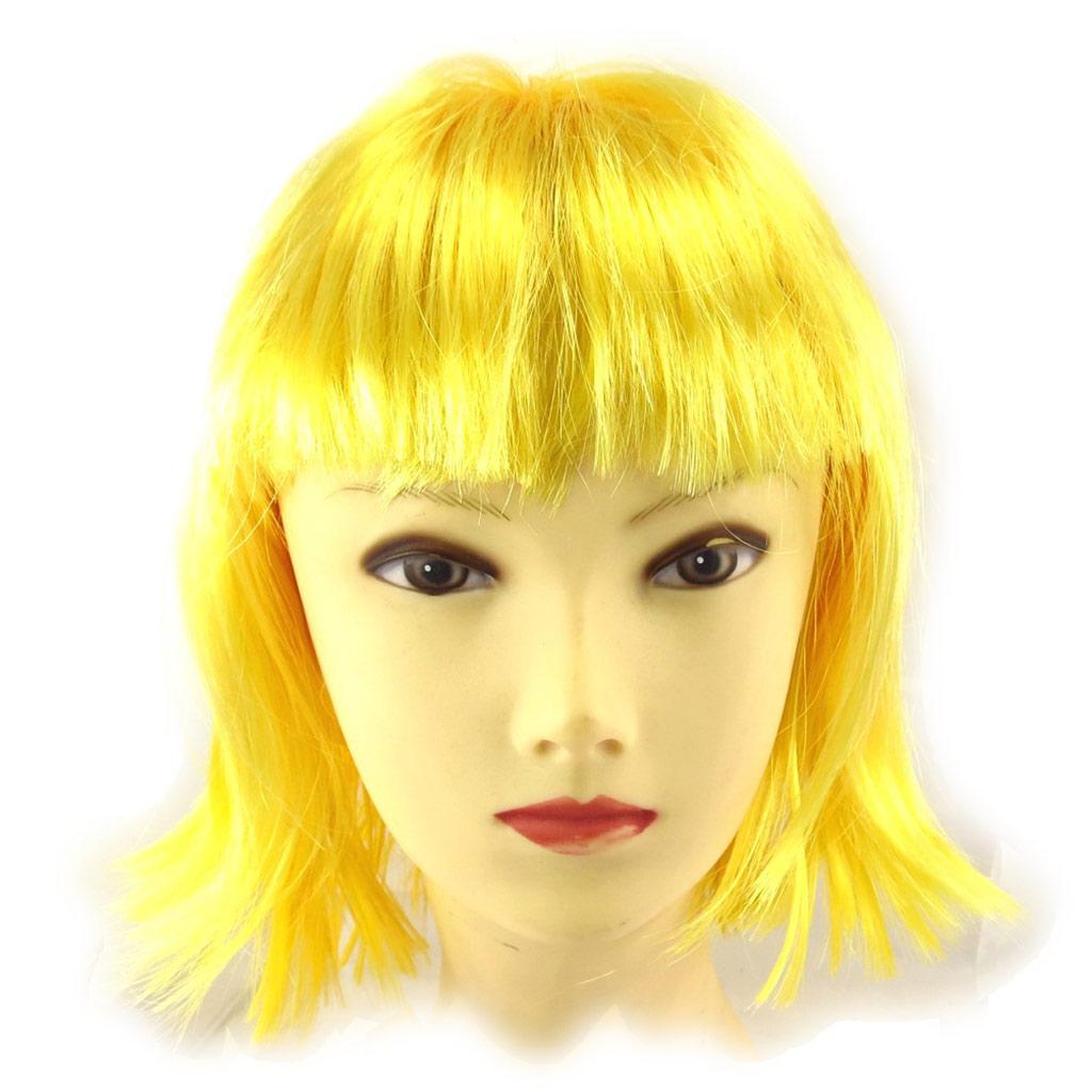 Perruque \'Coloriage\' jaune - [K2246]