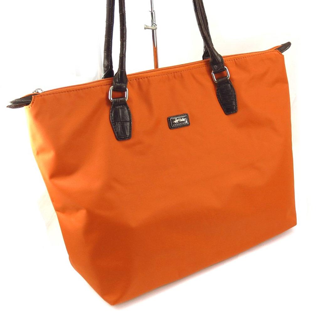 Grand cabas \'Lafayette\' orange (L) - [K4368]