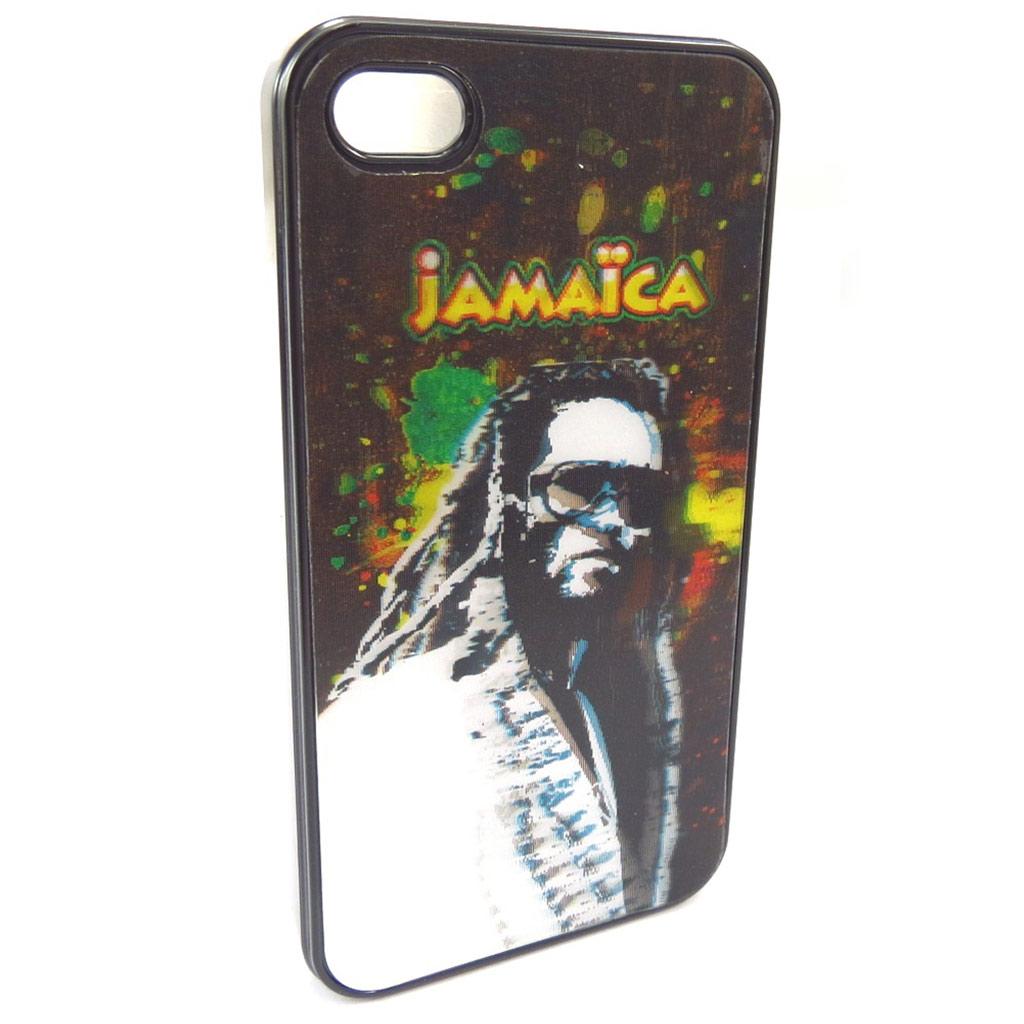 Coque créateur \'Jamaica\' Iphone 4 - [K4498]