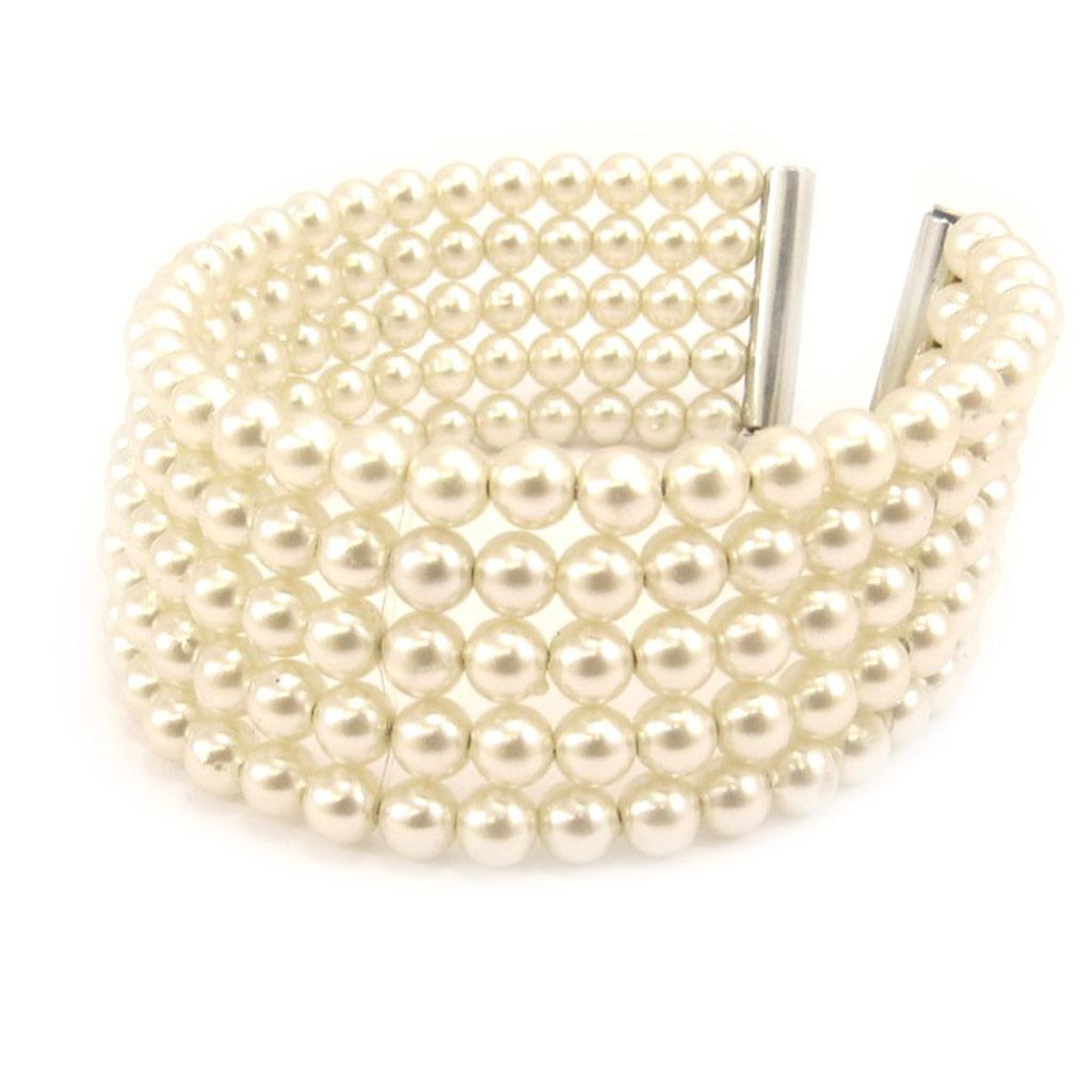 Bracelet \'Sissi\' ivoire - [L1612]
