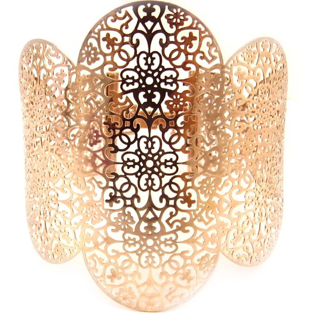 Bracelet \'Carmen\' doré rosé - [L5205]
