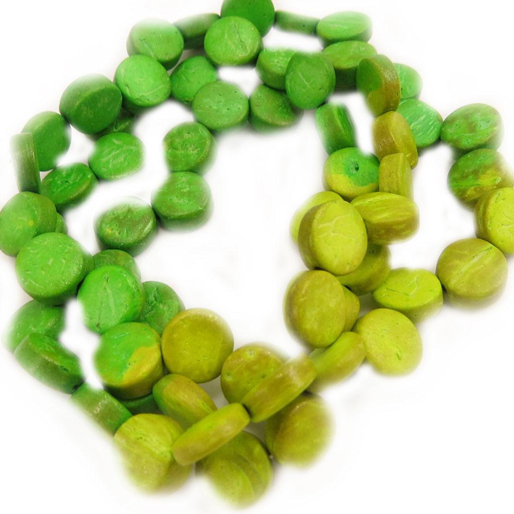 Bracelet Créateur \'Amazonia\' vert - [L5227]