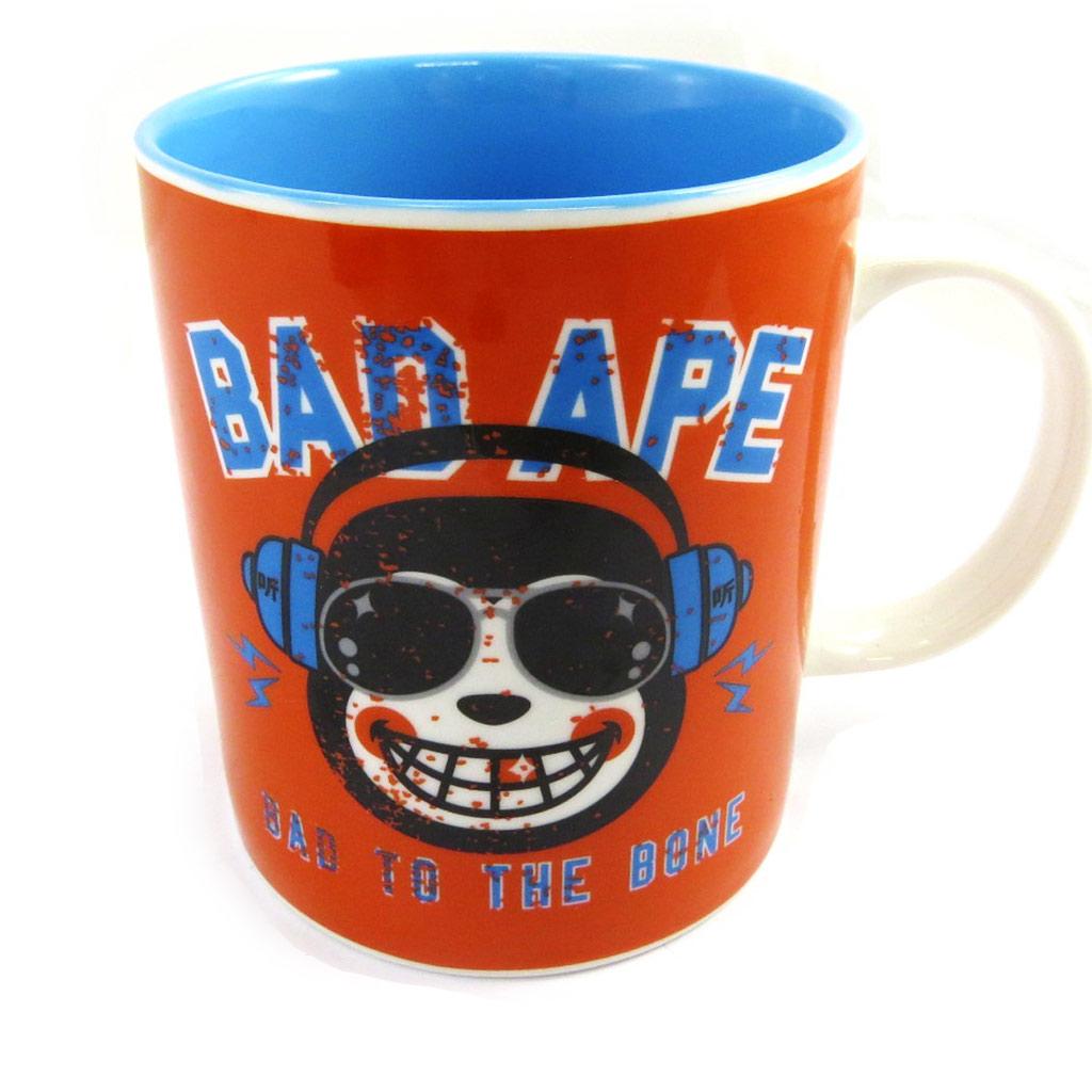 Mug céramique \'Muy Pop\' orange - [L9022]