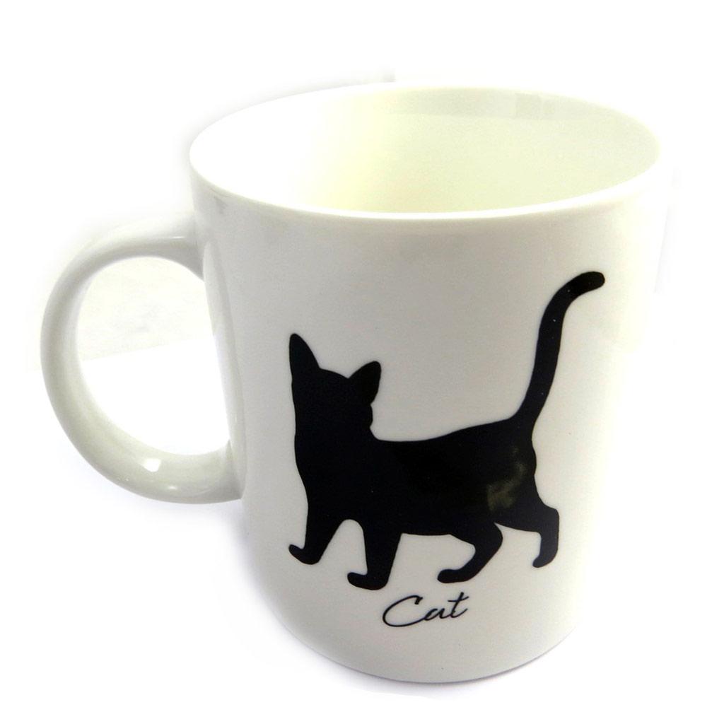 Mug \'Cat\' ivoire - [M3093]
