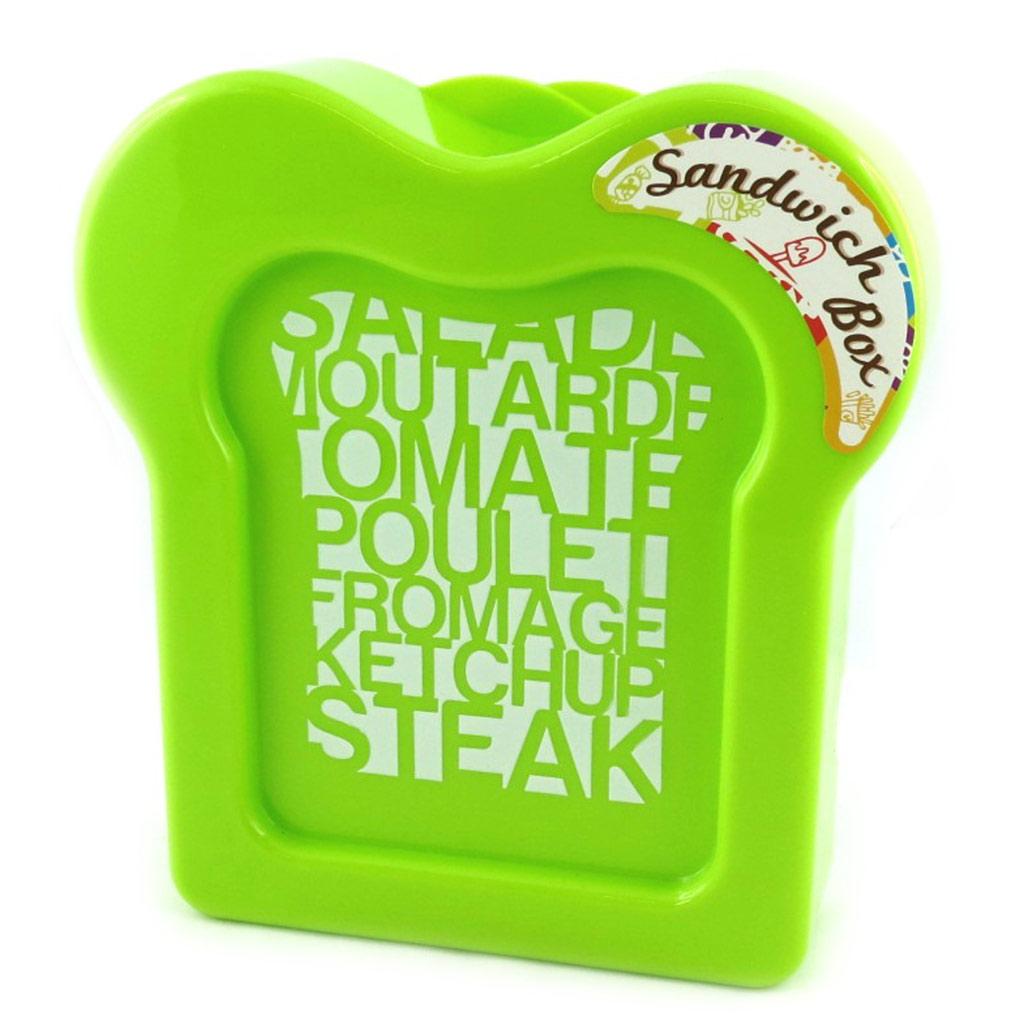 Boite à sandwich \'Coloriage\' vert - [M3957]