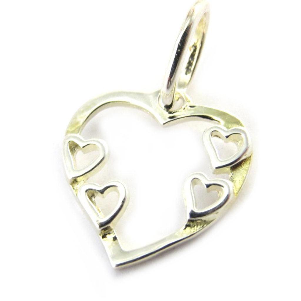 Pendentif Argent \'Love\'  - [M7105]