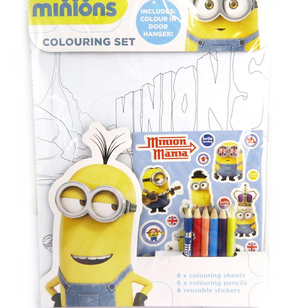 Set coloriage poster \'Minions\' (21x19) - [M8325]