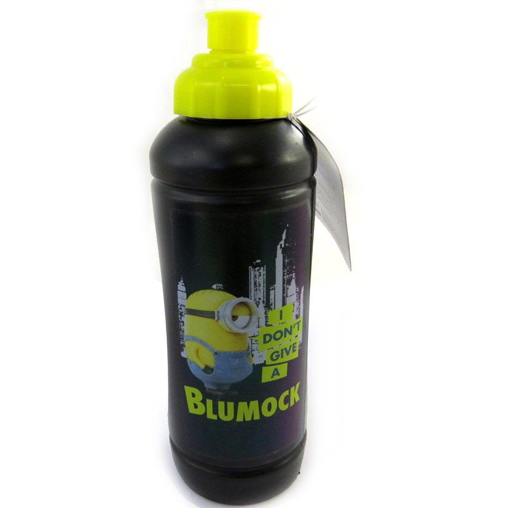 Gourde sport \'Minions\' 500 ml (I don\'t give a Blumock) - [M8355]