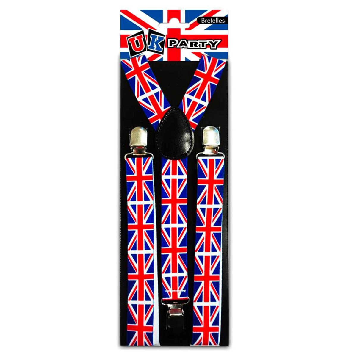 Bretelles \'So British\' bleu blanc rouge (Union Jack) - [M9094]
