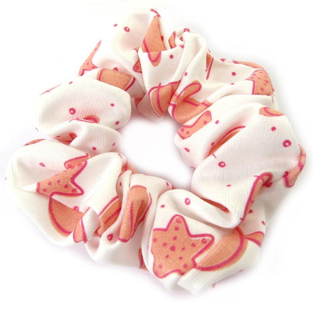 Chouchou \'Le Monde de Coralie\' rose blanc - [M9369]