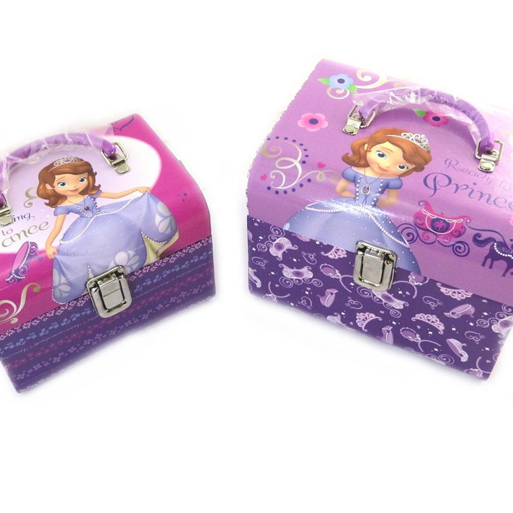 Set de 2 vanity gigones \'Princesse Sofia\' violet - [N0909]