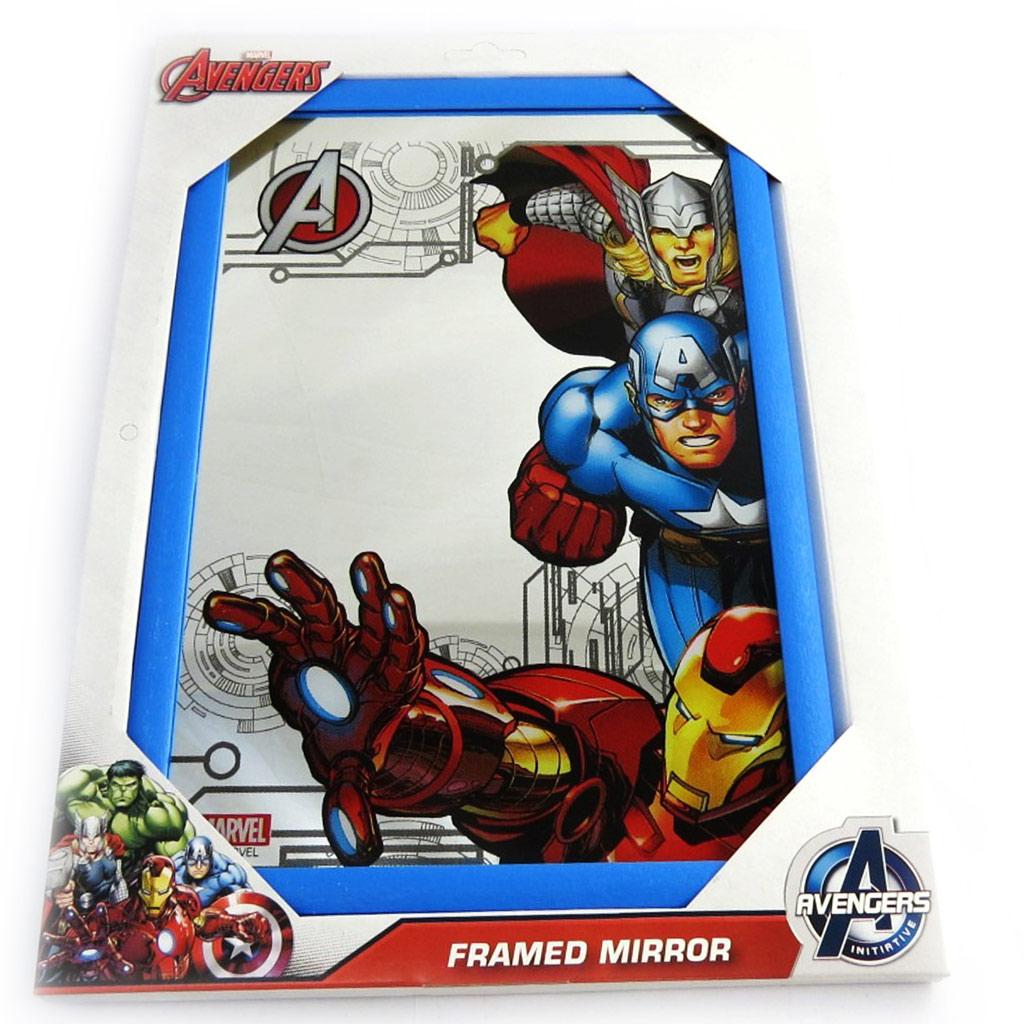 Miroir \'Avengers\' bleu multicolore (32x22 cm) - [N0926]