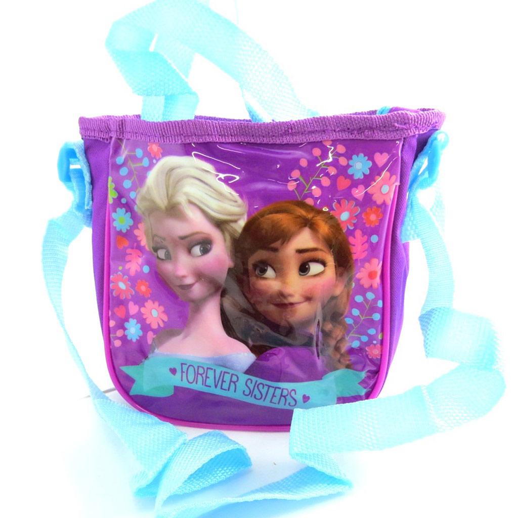 Sac créateur \'Frozen - Reine des Neiges\' violet (16x145x57 cm) - [N1347]