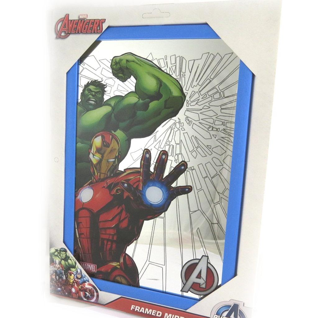 Miroir \'Avengers\' multicolore (32x22 cm) - [N1348]