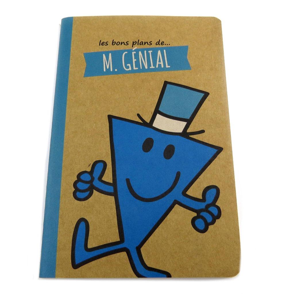 Carnet souple A6 \'Monsieur Madame\' (M Génial) - 145x95 cm - [P8947]