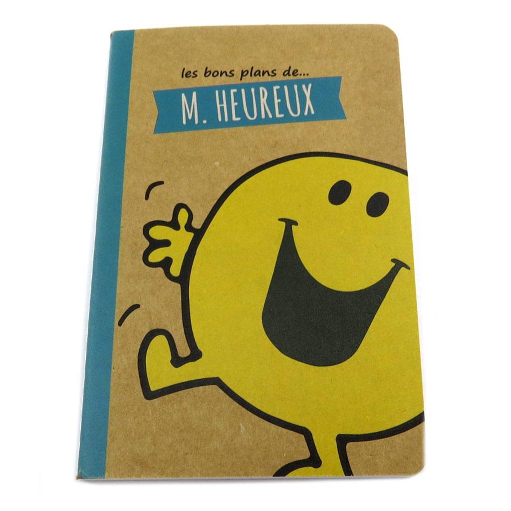 Carnet souple A6 \'Monsieur Madame\' (M Heureux) - 145x95 cm - [P8949]