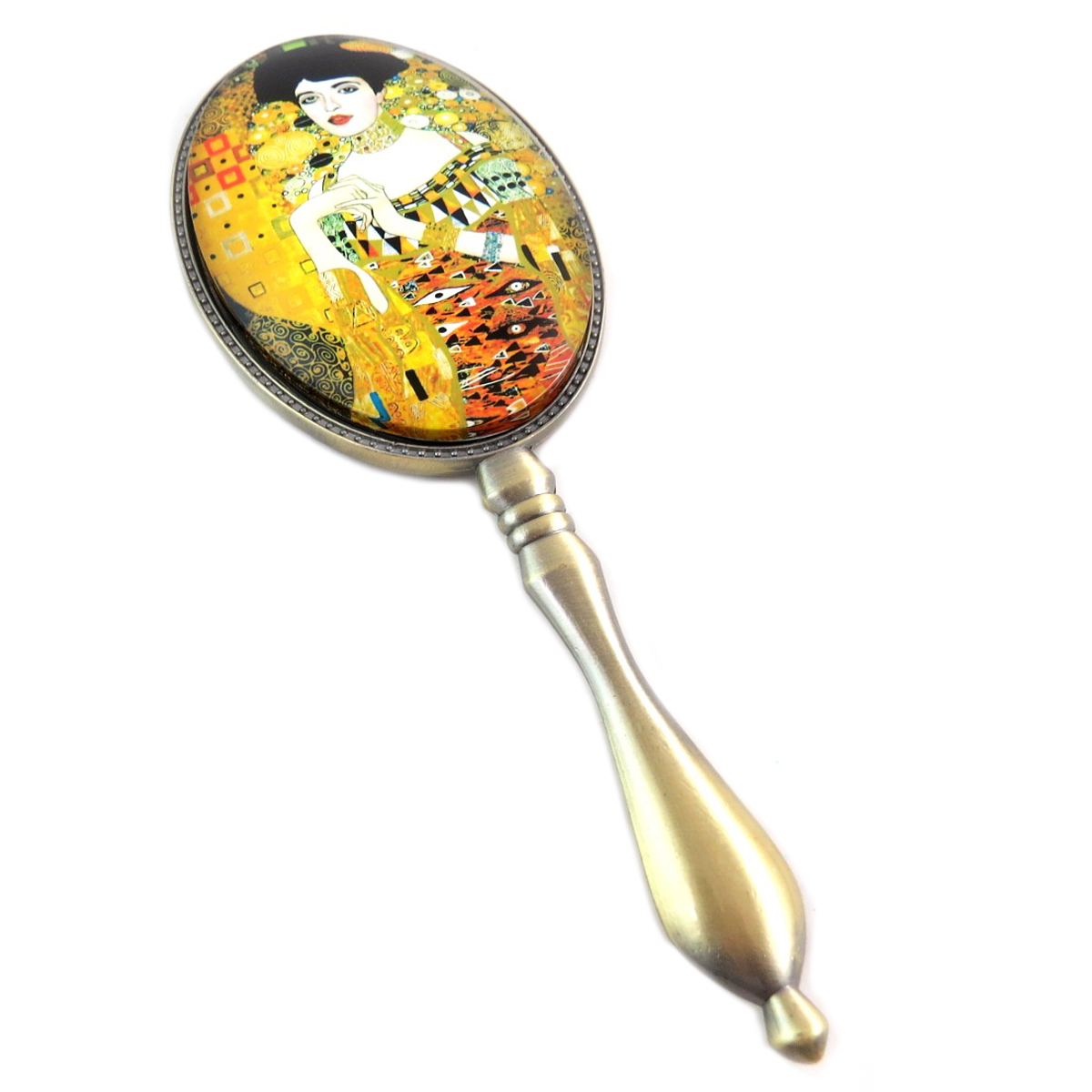 Miroir à main \'Gustav Klimt\' (Adele) - 195x7x15 cm - [Q0253]