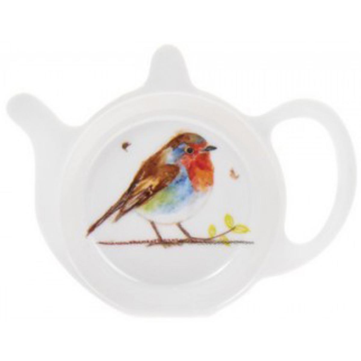 Repose sachets \'Oiseaux\' rouge - 12x98 cm - [Q7376]