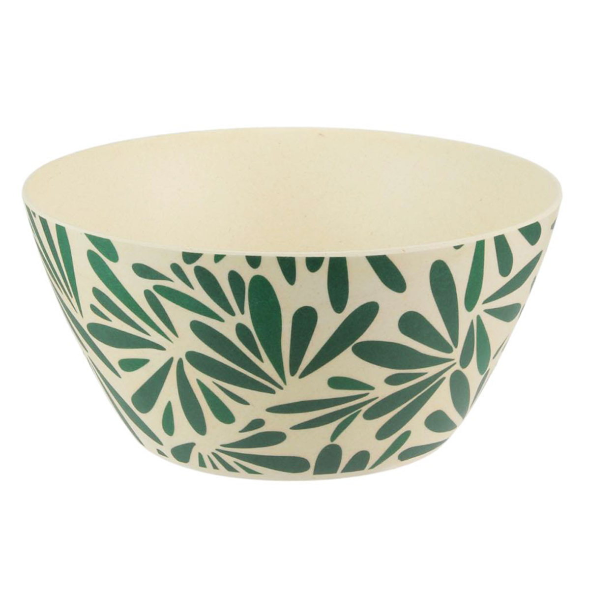 Bol bambou \'Jungle\' vert beige - 145x8 cm (700 ml) - [Q7767]