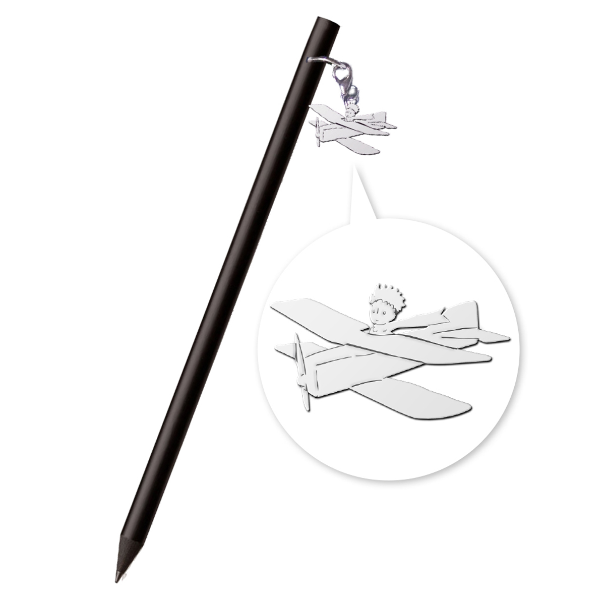 Crayon design \'Le Petit Prince\' avion - 175x1 cm - [Q8334]