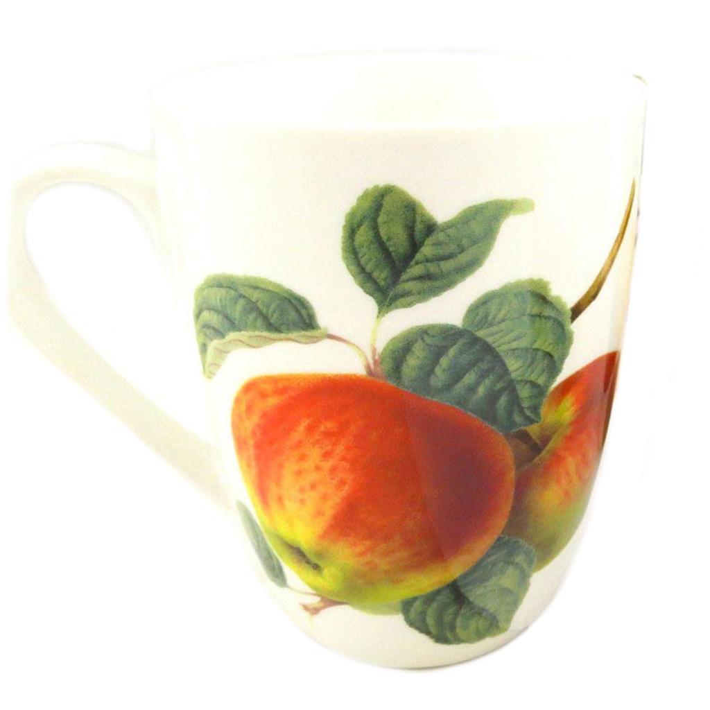 Mug céramique \'Verger Gourmand\' coing - 10x8 cm - [Q8827]