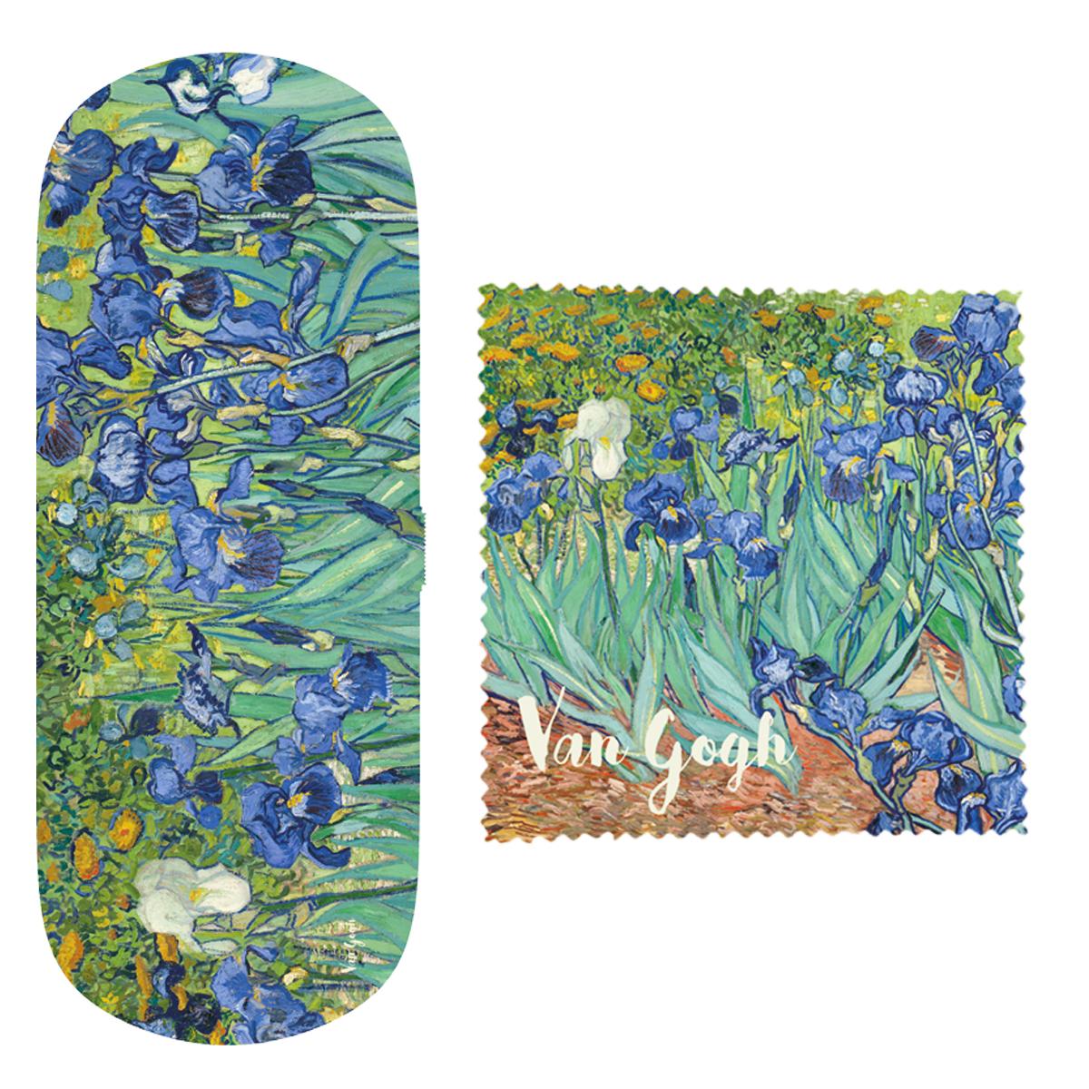Etui à lunettes \'Vincent Van Gogh\' (Iris) - 16x6x36 cm - [Q9271]