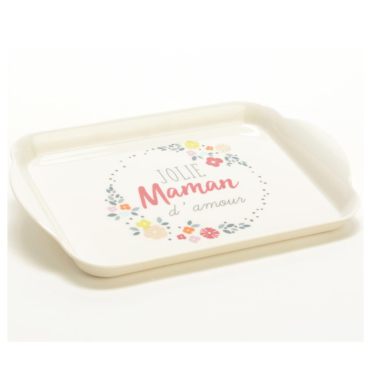 Petit Plateau \'Maman\' (jolie Maman d\'amour) - 22x155 cm - [Q9623]