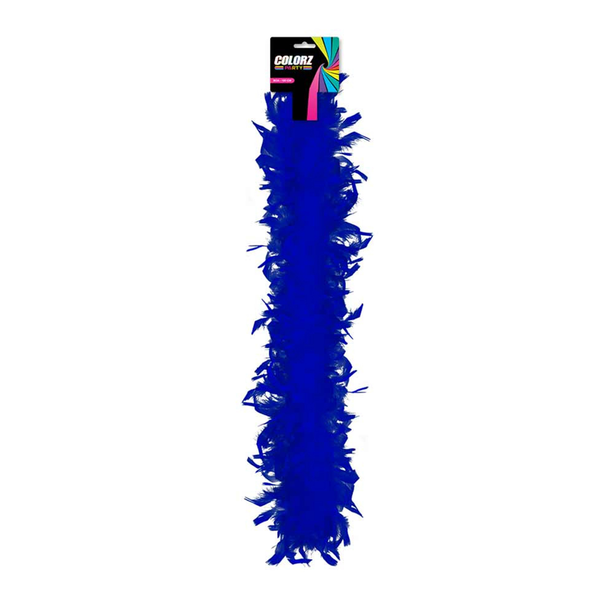 Boa \'Coloriage\' bleu - 185 cm - [R2081]