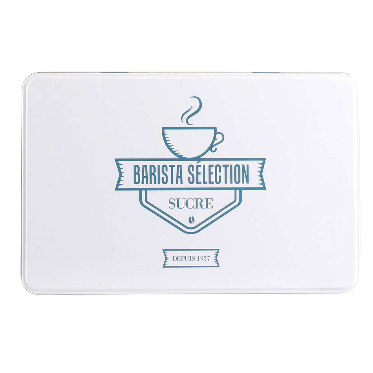 Boite à sucre \'Barista Selection\' blanc - 195x13x7 cm - [R2436]