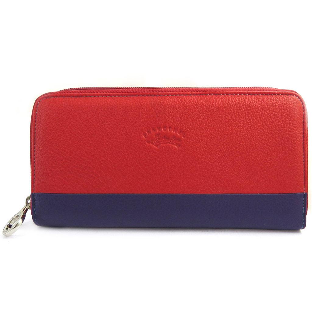 Compagnon zippé \'Troubadour\' rouge multicolore - [L8659]