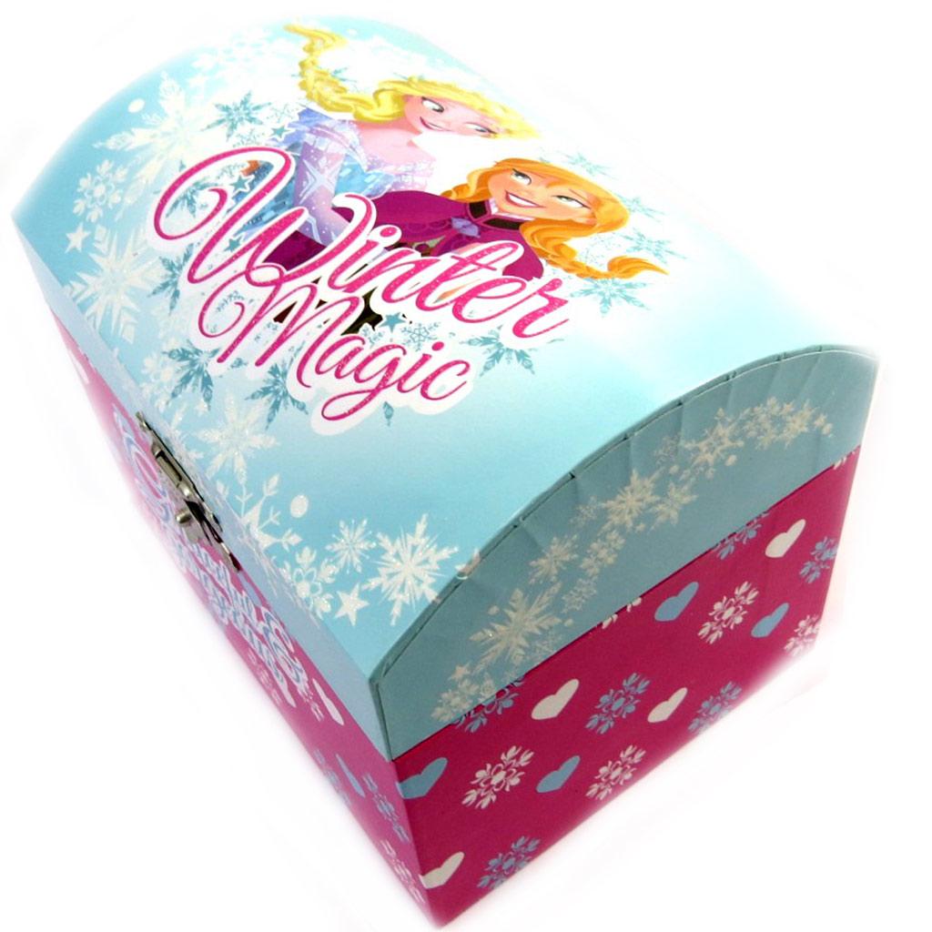 Coffret à Bijoux \'Frozen - Reine des Neiges\' bleu rose - [M2211]