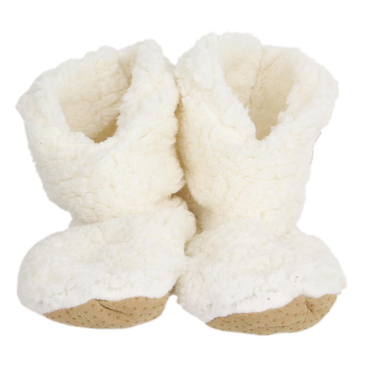 Chausson hiver \'Sherpa\' beige - taille 36-37 - [A0040]